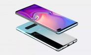 Samsung Galaxy S10+ renders hit the web, 5G model demoed