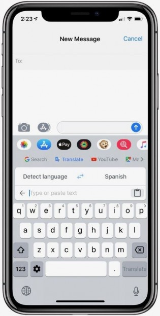 New translation features in Gboard version 1.42.0