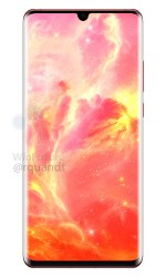 Huawei P30 Pro in Sunrise Red