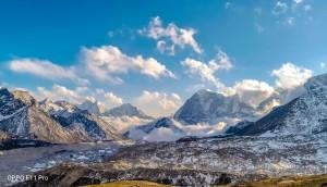 A paisagem do Himalaia