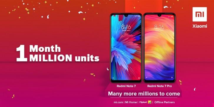 Xiaomi vendeu um milhão de Redmi Note 7 e Note 7 pro na Índia em apenas um mês 2