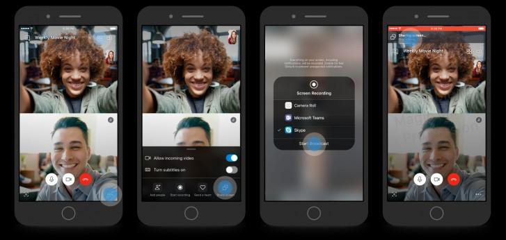 Skype adiciona partilha de ecrã no iOS e Android 1