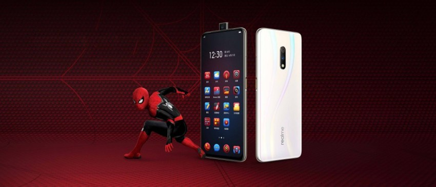 Image result for realme x spiderman edition