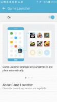 Game launcher is flagship-only - Galaxy A5 2016 vs. Galaxy S7