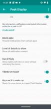 Peek Display - Motorola Moto G7 review