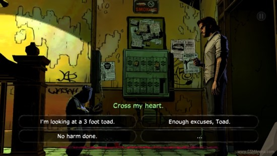 Image result for the wolf among us android game