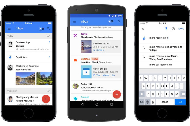 Inbox by GMail on Android