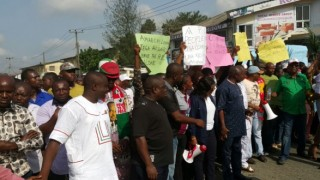 Image result for Low turnout mars protest in Rivers state
