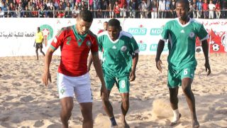 Image result for Sand Eagles win opener in African Beach Soccer tourney