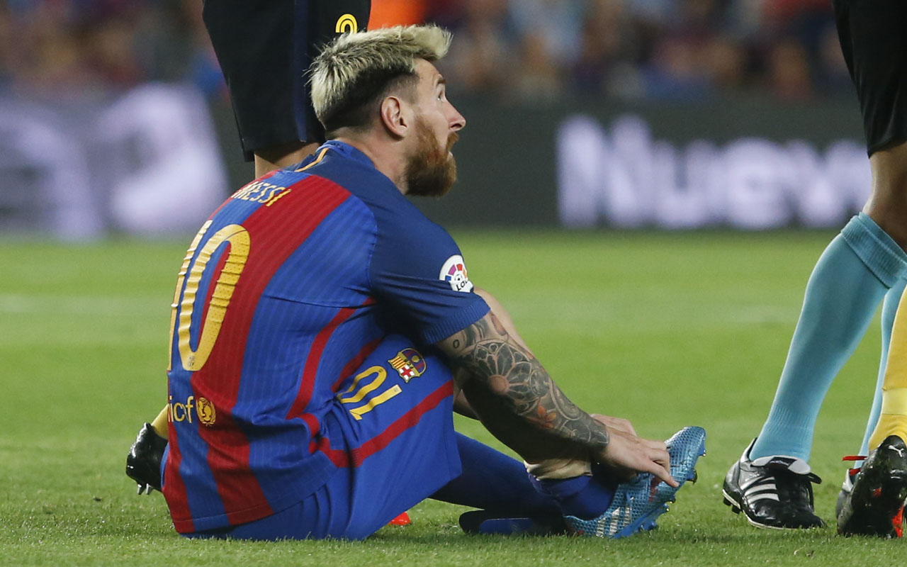 Image result for Messi afraid of injury sidelining him – Argentina's coach
