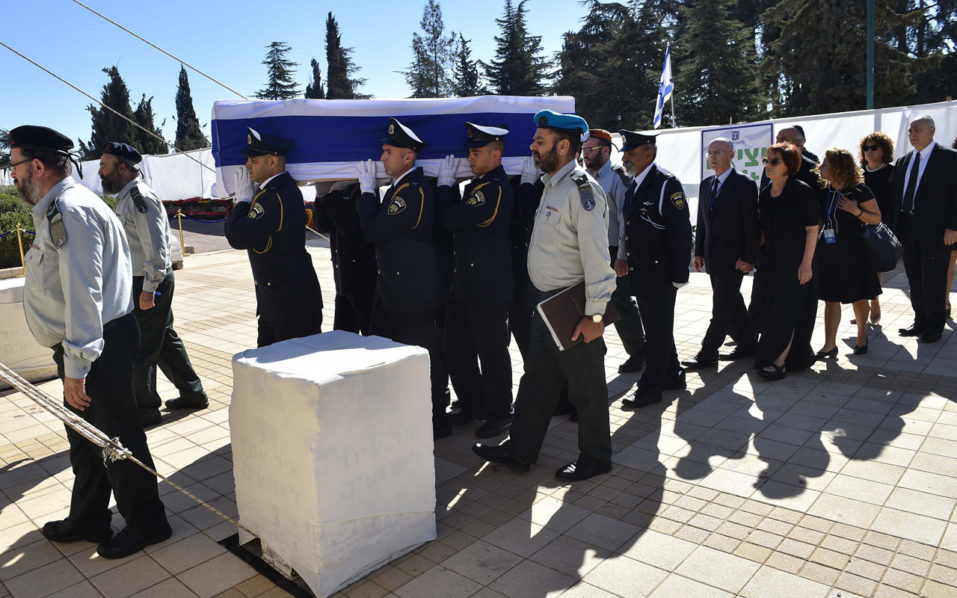 Image result for World leaders bid farewell to 20th-century 'giant' Peres