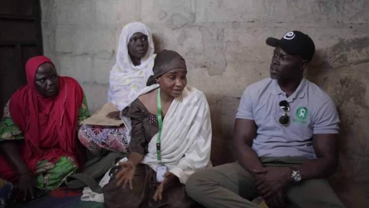 Djimon Honsou in Maiduguri