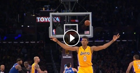 Nba Player Celebrates Missed 3 Pointer Nick Young With The Miss Guff