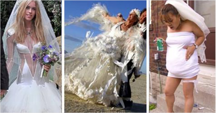 These Are The Worst Wedding Dresses You'll Ever See