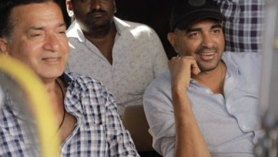 Pic Talk: Director & Action Director Watching Pawan's Action In Awe