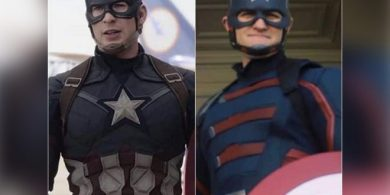 Meet the brand new Captain America;  #NotMyCap Developments