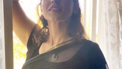 Pic Talk: Priyanka Jawalkar's See-through Saree Look
