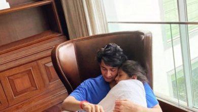 Heart-warming Moment Of Mahesh Cuddling Sitara