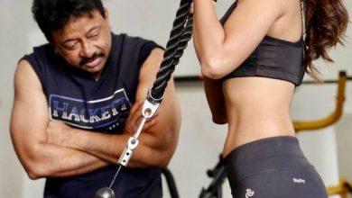 In Pics: Ariyana Talks Bold With RGV