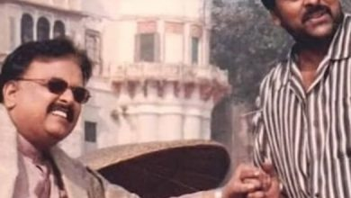 Chiru and SP Vasantha Pay Tearful Tribute To SPB