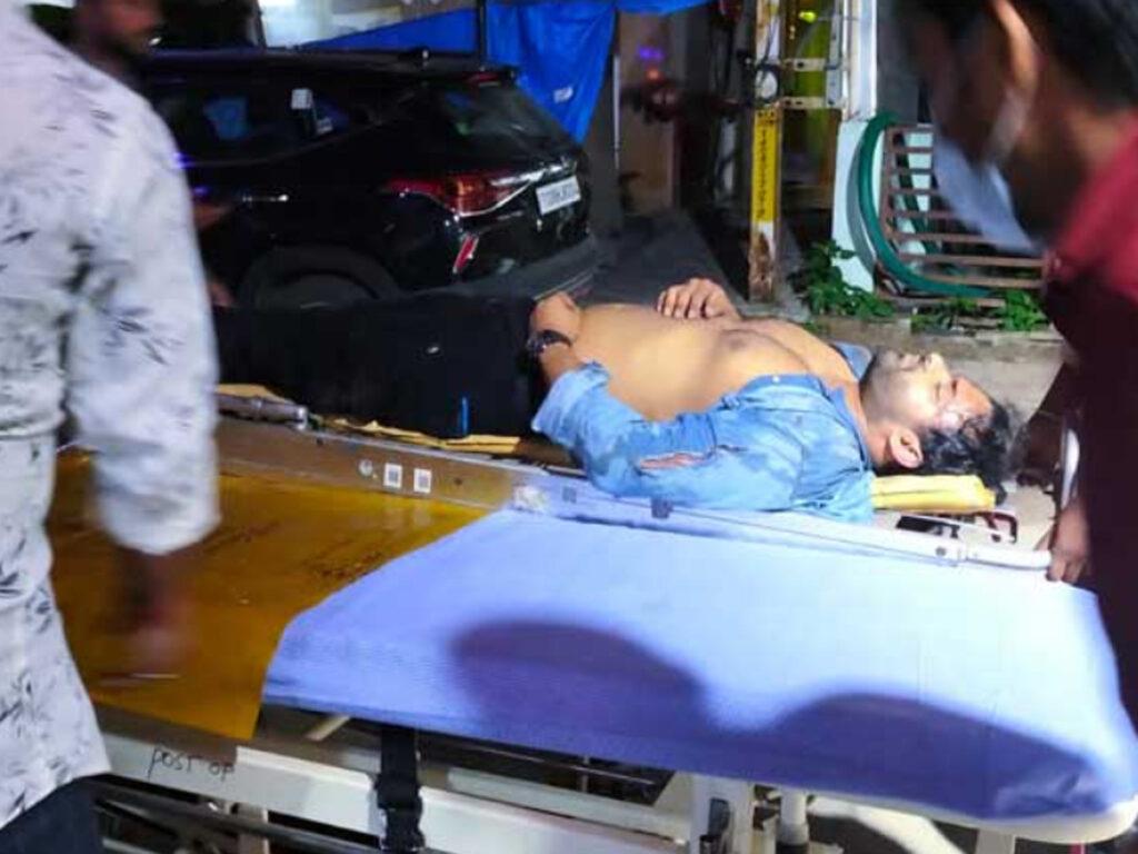 Sai Dharam Tej Accident: Chiru, Pawan And Allu Aravind At Apollo -