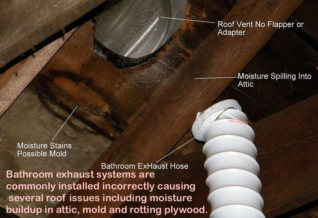 how to install a bathroom fan without