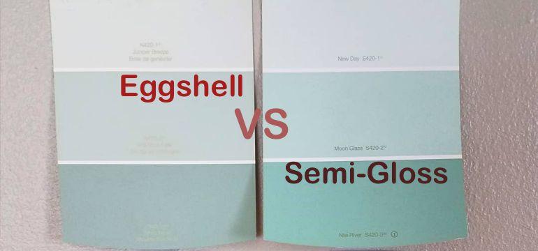 Eggshell Paint Vs Semi Gloss Paint How Do You Choose