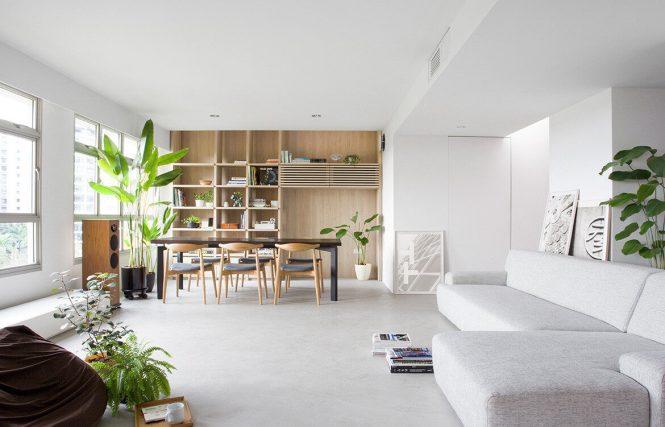 Nitton Architects Reconfigure Apartment Design In Singapore