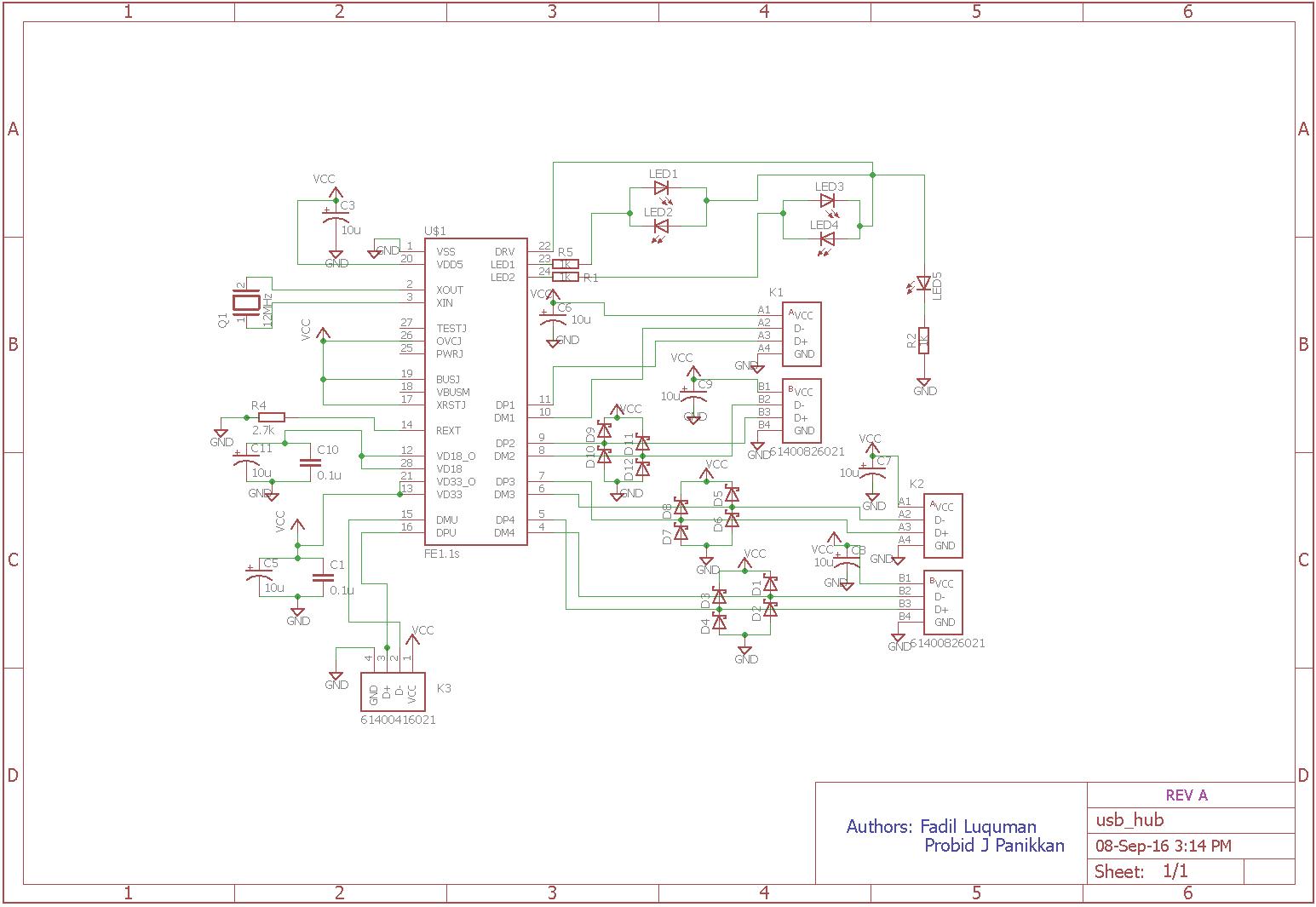 Schematic Usb Hub
