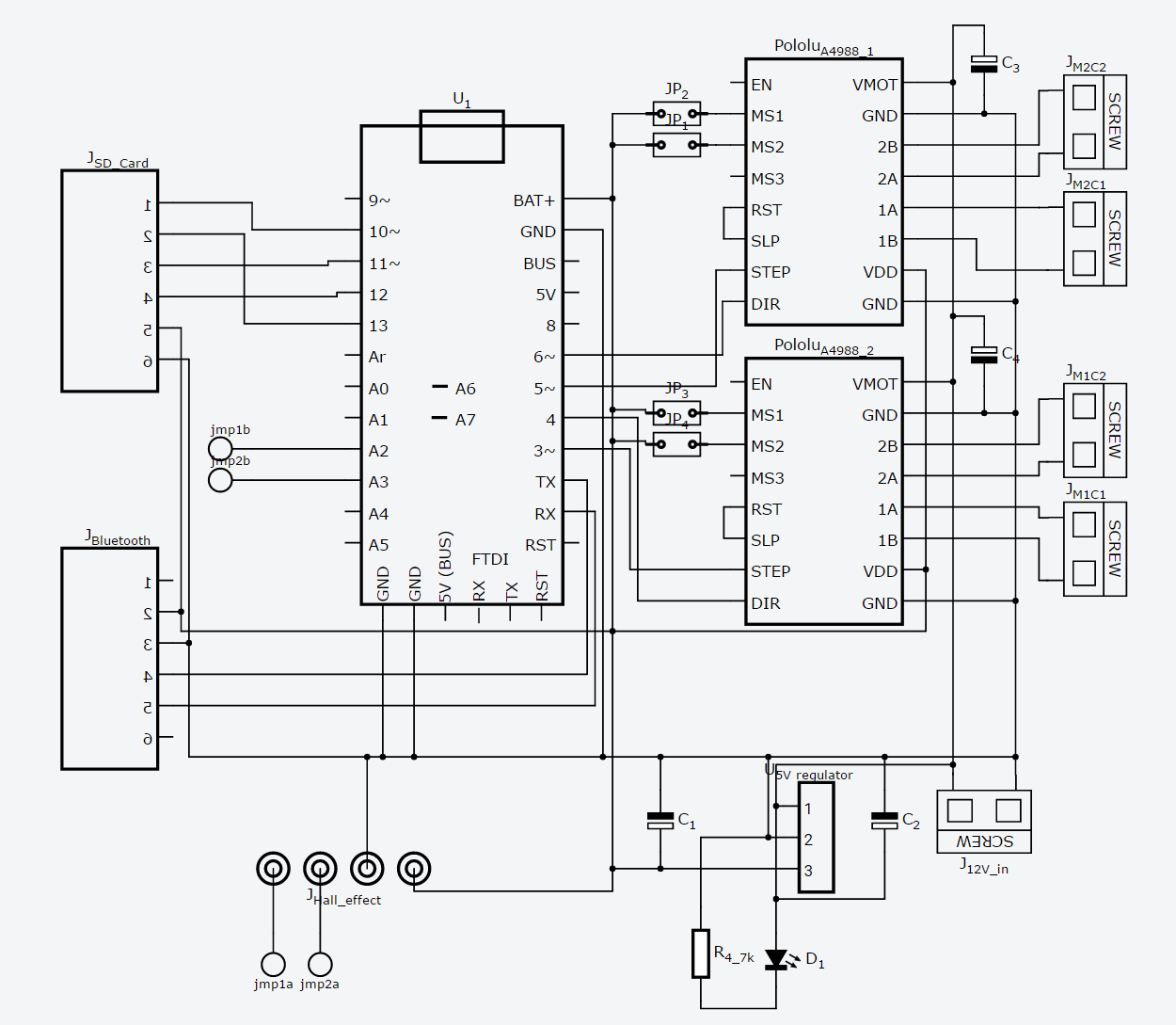 Working On A Draft Schematic And Pcb