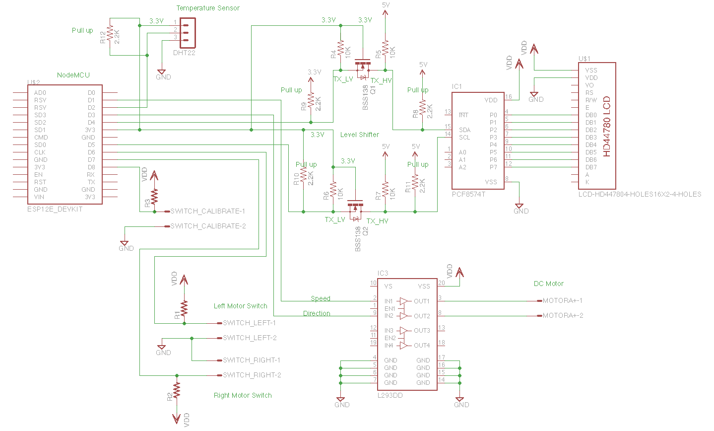 Motor Shield Schematic