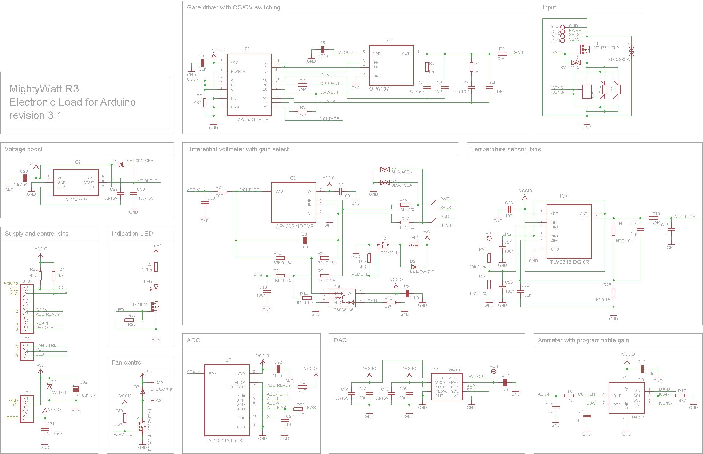 Mightywatt R3 70w Electronic Load For Arduino
