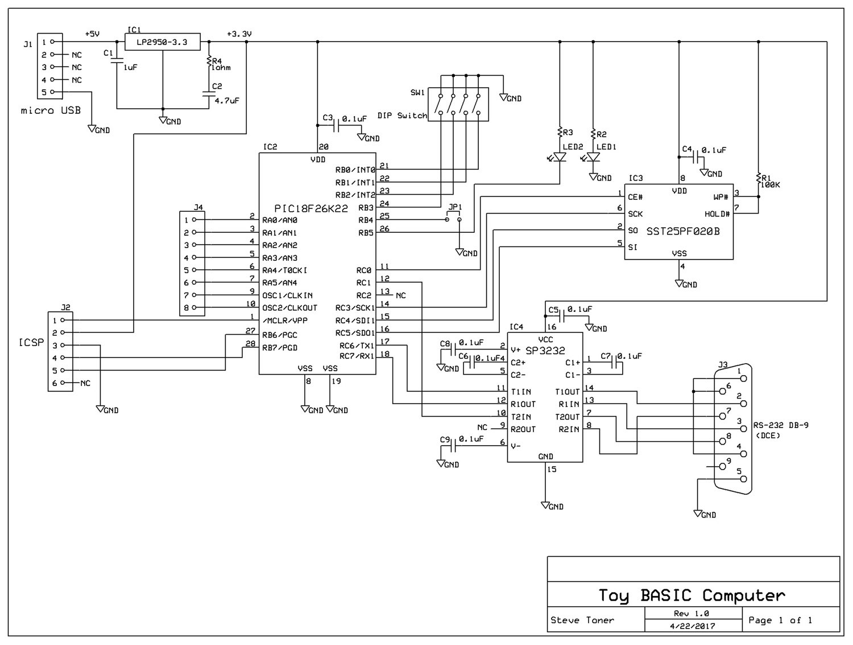 Toy Basic Computer