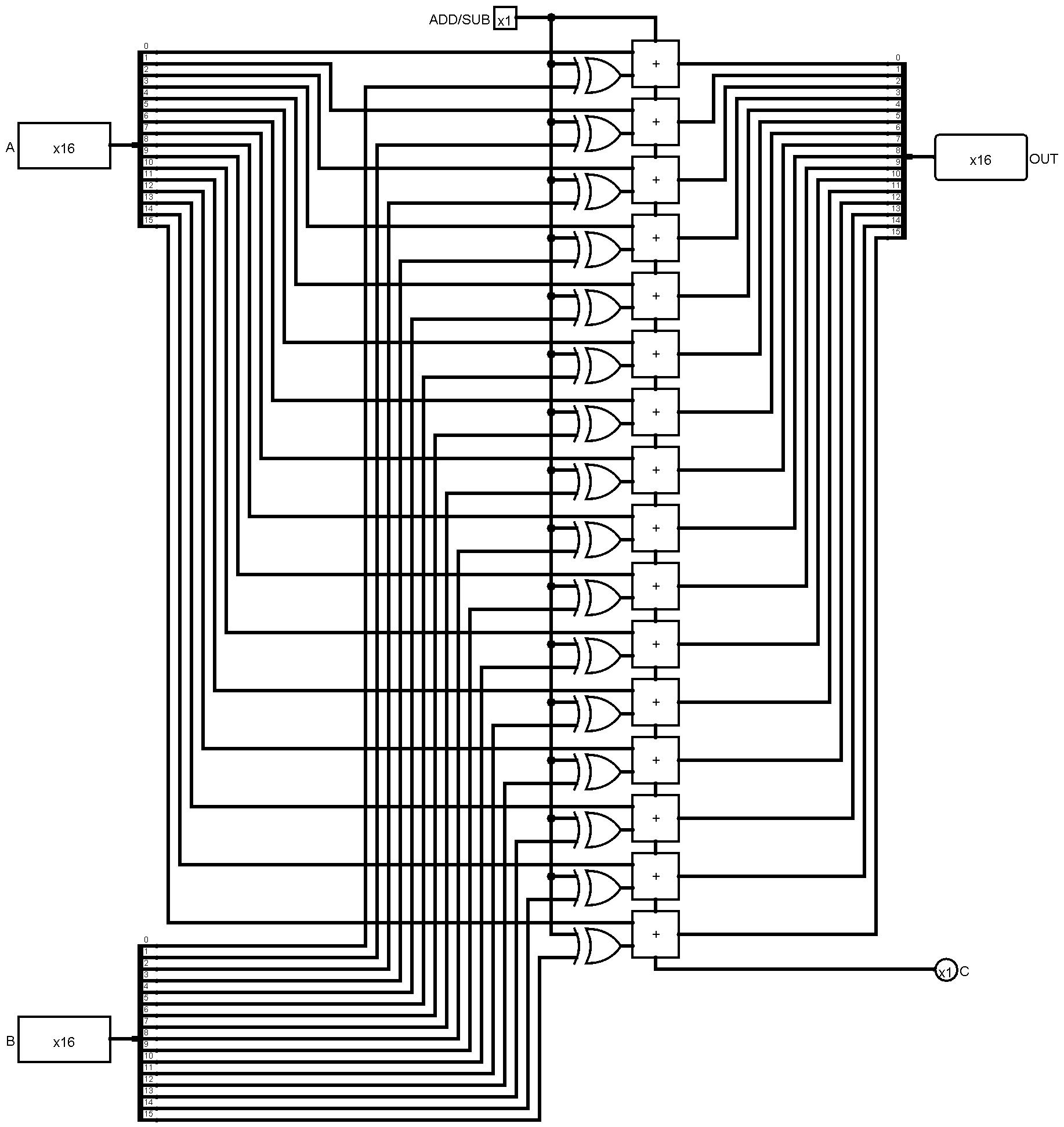 16 Bit Cpu Schematic   Wiring Diagram Database