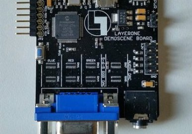 Layerone Demoscene Board