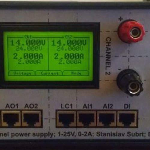 Advanced bench power supply