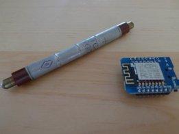 ESP8266 Geiger counter