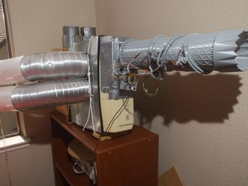 Apartment ventilation system
