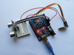 Distance monitoring with Arduino & AskSensors IoT
