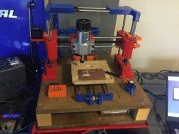 3D Printed PCB mill