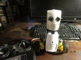 CUTSIE WHUN - Fast, Tough, N Cute Balancing robot