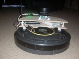 Interactive SLAM with a Roomba