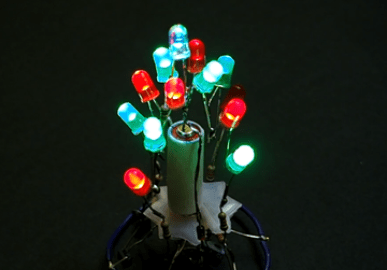 ATtiny85 Christmas Tree Ornament