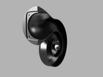 Speakers that look like snails