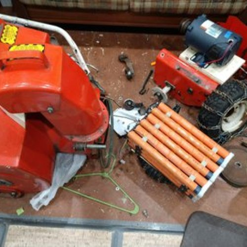 Electric Snowblower Conversion