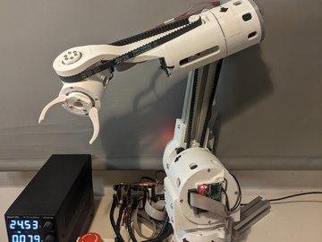 CM6 - Compliant 3D printed robotic arm