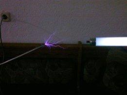 Mechanically Driven Tesla Coil