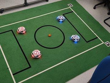 """Omniwheel Soccer setup / """"Junior SSL"""""""