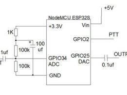 Audio delay and VOX using ESP32