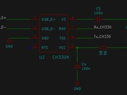 CH330N 33¢ USB to UART – info and application(s)
